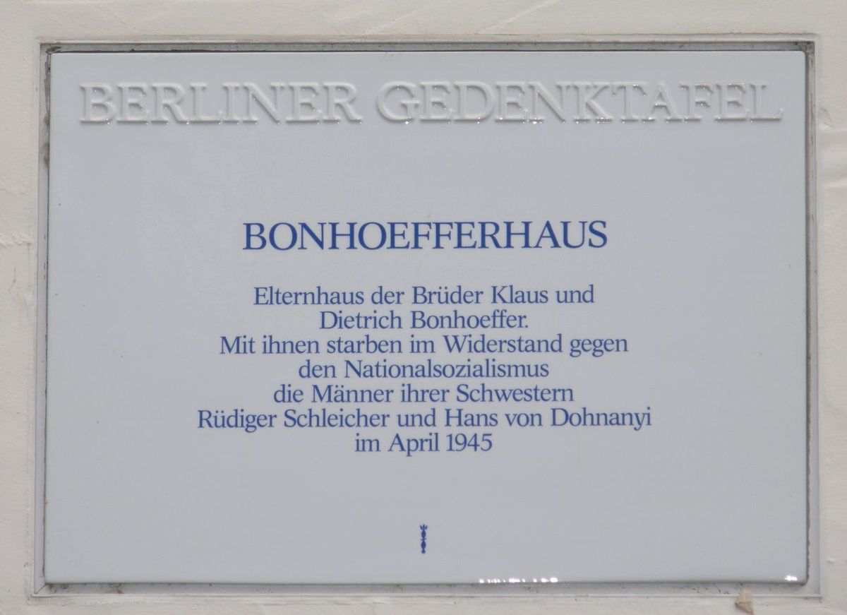 bonhoeffer haus berlin