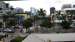 Bonifacio High Street - Image: Bonifacio High Street in BGC, Metro Manila