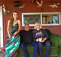 Bonnie Ferguson with Mr and Mrs Sid Levin.jpg