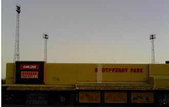 Hull City A.F.C. - Boothferry Park in March 2008