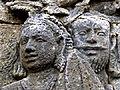 Borobudur - Lalitavistara - 025 S, The Portents before the Bodhisattva's Birth (detail 4) (11247506714).jpg