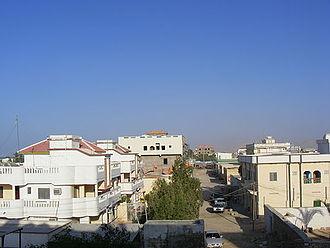 Bosaso - A residential area in Bosaso.