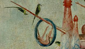 Bosch, Hieronymus - The Garden of Earthly Delights, central panel - Detail Man in a ring.jpg