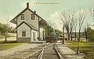 Boston & Maine Railroad Depot, Warner, NH