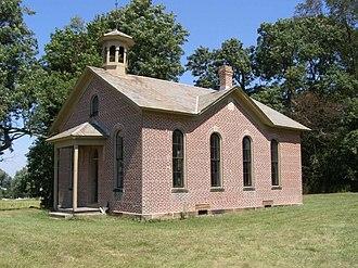 Berlin Township, Holmes County, Ohio - Boyd School, built 1889