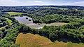 Brémondans, l'étang de Breuillez (vue aérienne).jpg