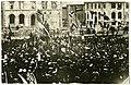 Bríet Bjarnhéðinsdóttir heldur ræðu á Austurvelli 7. júlí 1915 - AJ-2457.jpg