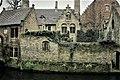 Brügge, Belgien 9 (Kanäle, Brücken, Häuser) -.jpg