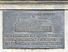 König Anton unterstützte die Gründung der späteren TU Dresden (Quelle: Wikimedia)