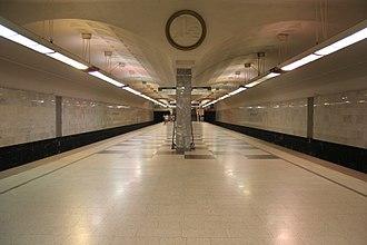 Bratislavskaya (Moscow Metro) - Image: Bratislavskaya mm