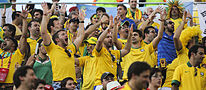 Brazil and Croatia match at the FIFA World Cup (2014-06-12; fans) 22.jpg