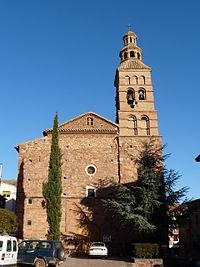 Brea de Aragón - Iglesia de Santa Ana - Fachada.JPG