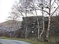 Bridge abutment on the Clegyr road at Glynrhonwy - geograph.org.uk - 314123.jpg