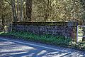 Bridge over Pincey Brook on Matching Road, Hatfield Heath, Essex, England 03.jpg