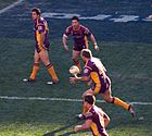 Brisbane Broncos vs Bulldogs 3
