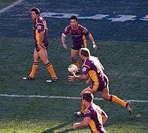 Queensland-Sport-Brisbane Broncos vs Bulldogs 3