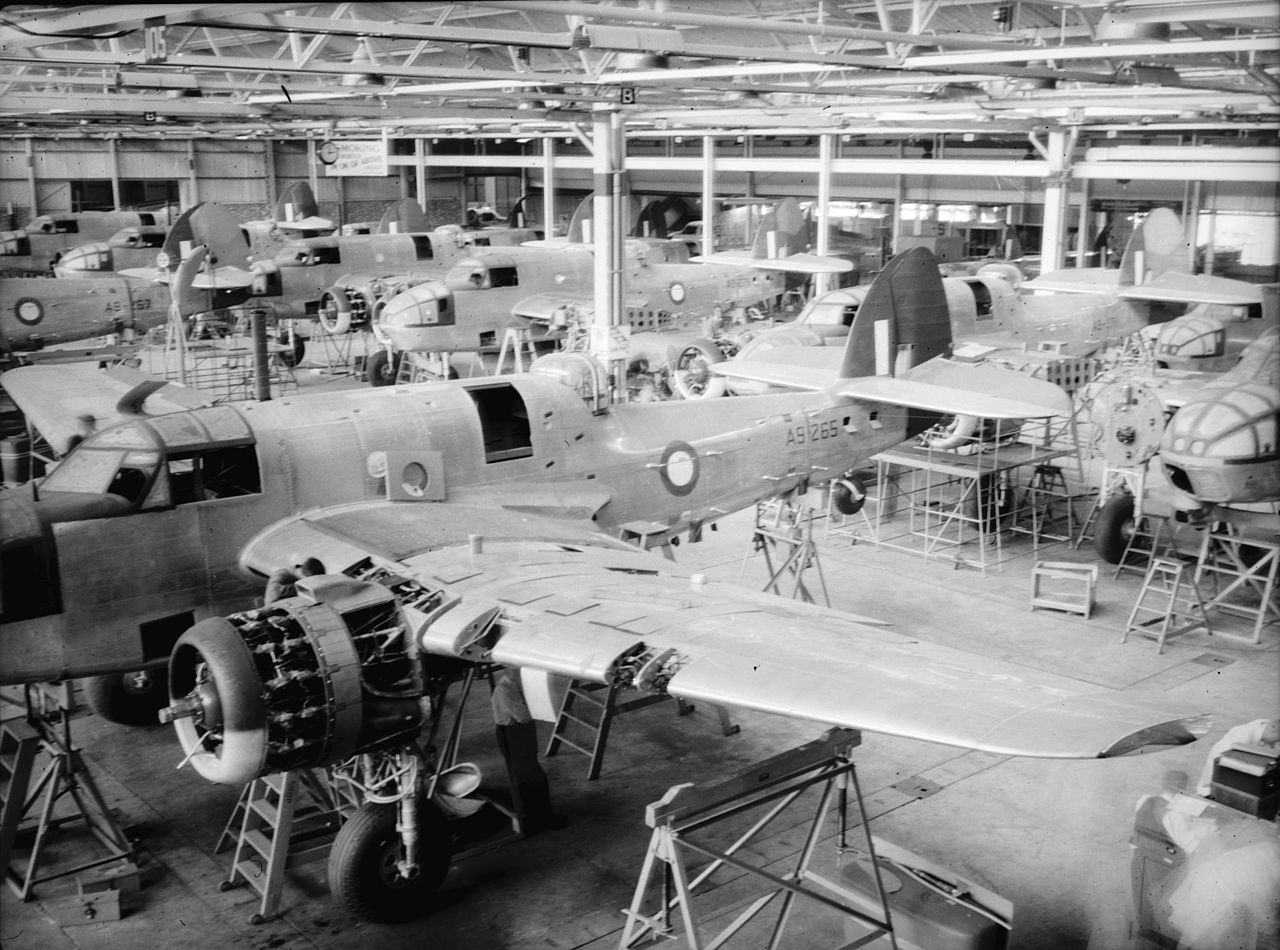 Beaufort Australia  City new picture : Bristol Beaufort production at DAP Australia1 c1943 ...