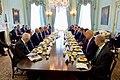 British Foreign Secretary Philip Hammond and U.S. Secretary of State John Kerry Meet With European Bankers at No. 1 Carlton Gardens (26873121702).jpg