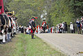 British Troops Approaching Surrender Site - Yorktown 225th Event October 2006.jpg