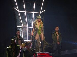 "Work Bitch - Spears opening the Britney: Piece of Me show with a performance of ""Work Bitch"""