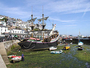 Golden Hind - The second replica in Brixham
