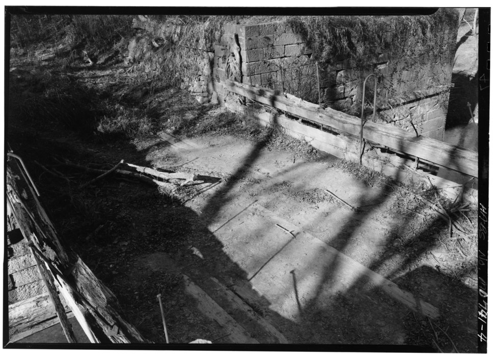 Broad trunk run Aqueduct on Chesapeake and Ohio canal bed from LOC