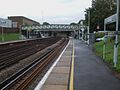 Brockley station southbound look north.JPG