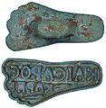 Bronze bread stamp, Byzantine, 4th-6th century.jpg