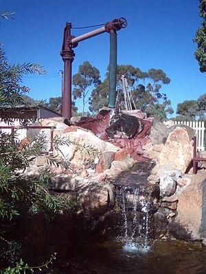 Brookton, Western Australia - Stand pipe Brookton railway station