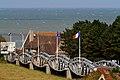 """Bruecke aus """"Whale pier"""" Elementen, Vierville-sur-Mer 01 09.jpg"""