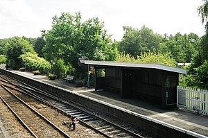 Brundall railway station - Platform 1 (westbound)