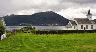 Bruvik Church Church in Vestland, Norway