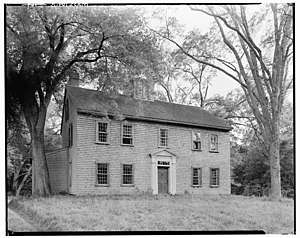 Norwell, Massachusetts - Bryant-Cushing House, built ca. 1698