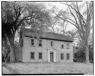 Norwell, Massachusetts - Bryant-Cushing House, built ca. 1698