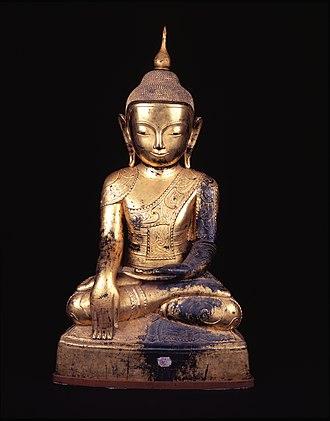 Fowler Museum at UCLA - Image: Buddha from Sagaing, Burma