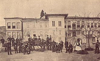 Bulgarian Exarchate - Bulgarian Men's High School of Thessaloniki in the beginning of the 20th century