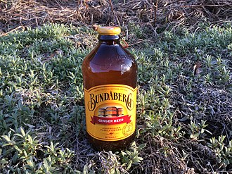 Ginger beer - Bundaberg Ginger Beer.