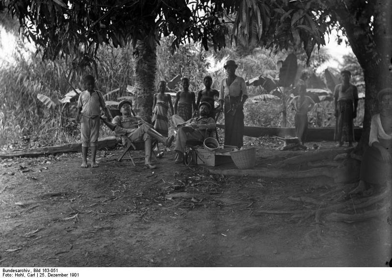 Bundesarchiv Bild 163-051, Kamerun, Weihnachten am Mungo