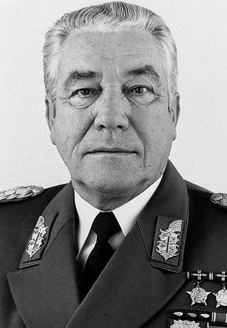 Heinz Hoffmann - Karl-Heinz Hoffman, c.1982