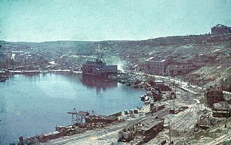 Siege of Sevastopol (1941–42) - Sevastopol harbour after the battle (July 1942)