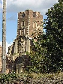 Bunny Hall - the tower - geograph.org.uk - 748699.jpg