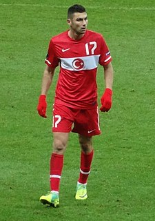 Burak Yılmaz Turkish international footballer