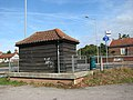 Bus shelter by Elvin's Garage - geograph.org.uk - 1541810.jpg