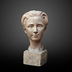 Bust of a young man Pierre Collart-Georgette Agutte-MG 2326