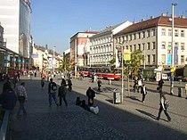 Busy centre of Smichov Prague CZ 713.jpg