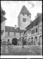 CH-NB - Burgdorf, Schloss, vue partielle extérieure - Collection Max van Berchem - EAD-6661.tif