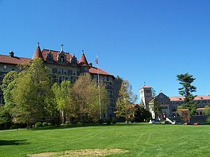Chestnut Hill College - The Chestnut Hill College campus