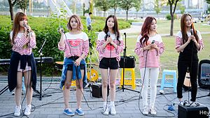 CLC (band) - CLC busking event, June 2015