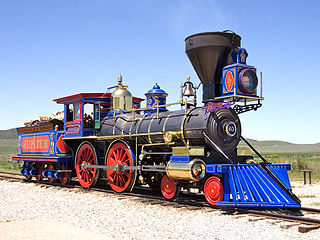 <i>Jupiter</i> (locomotive) early American 4-4-0 steam locomotive