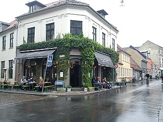 Indre By, Aarhus - Image: Café Drudenfuss
